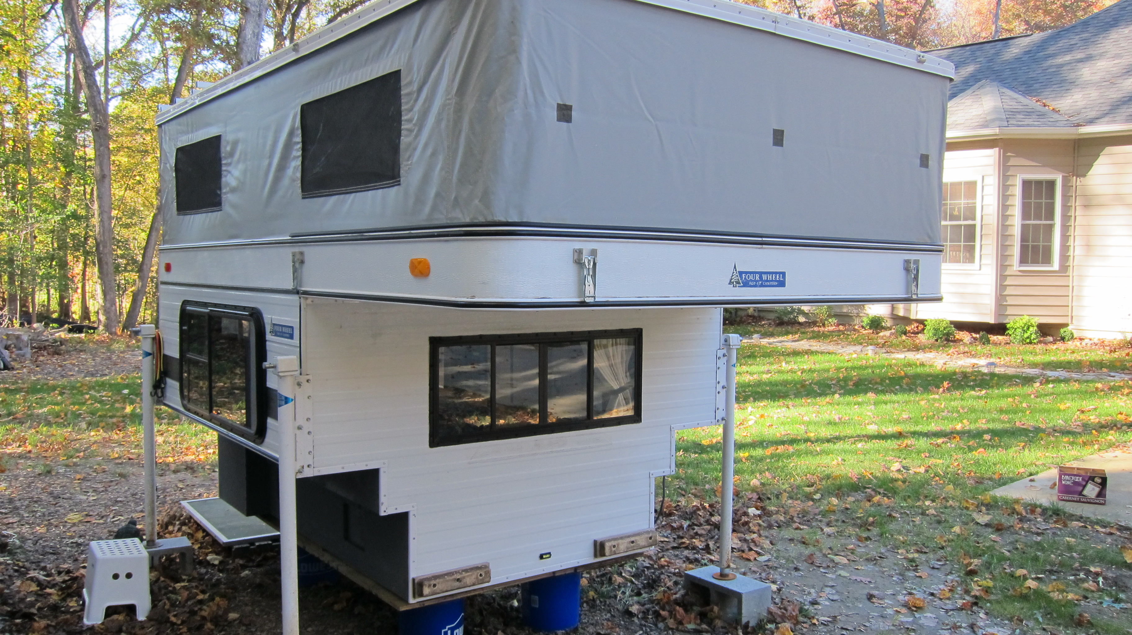 The Camper - Finding Our Four Wheel Camper   Travel Amateurs