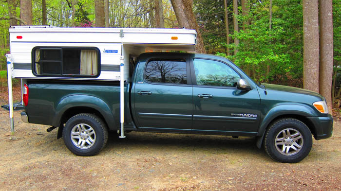 Our New Home   Four Wheel Camper   Travel Amateurs