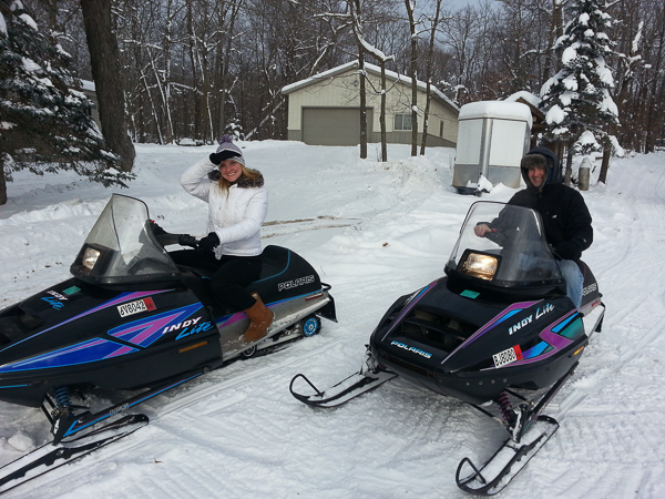 Minnesota Winter Snowmobiling