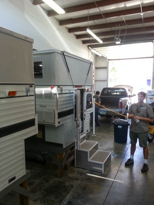 Rocky Mountain Four Wheel Camper Showroom