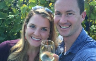 Engagement 2014 at Chrysalis winery