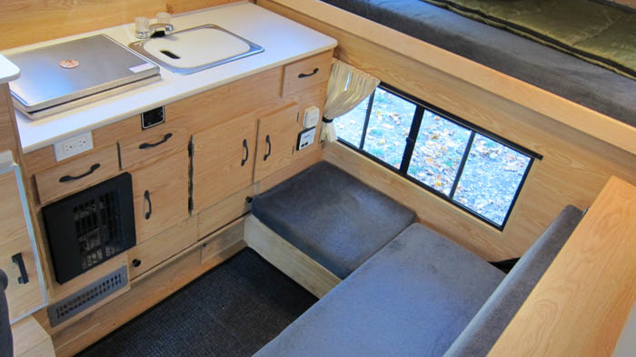 Four Wheel Camper Flooring