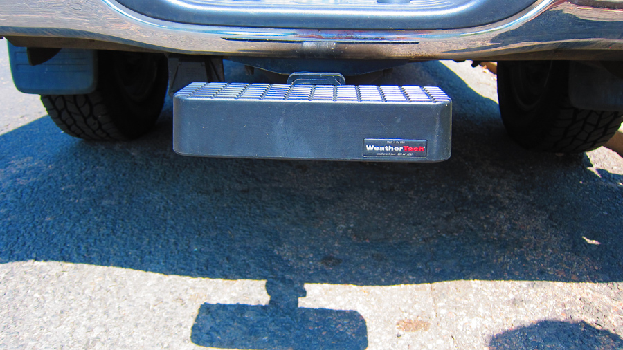 WeatherTech hitch step