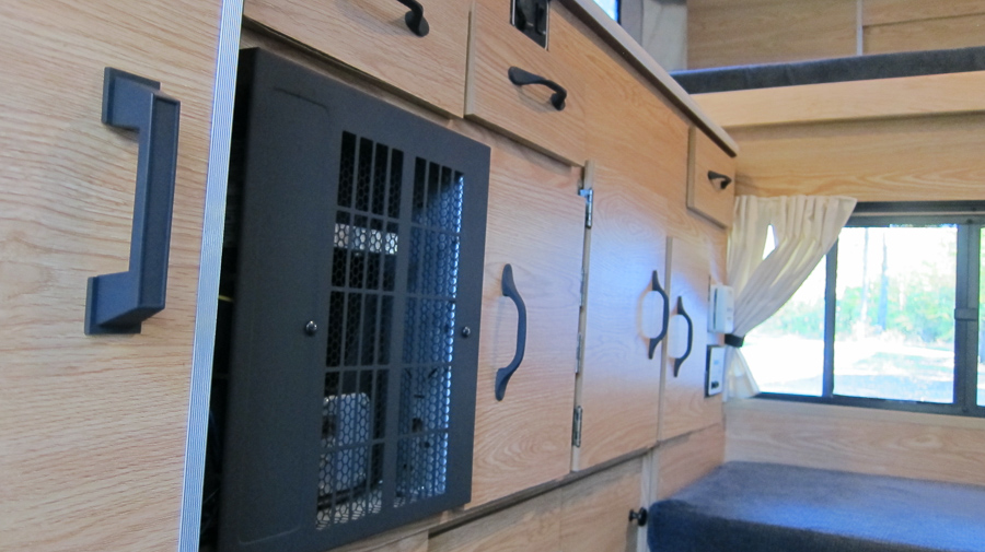 Four Wheel Camper - Interior Cabinets