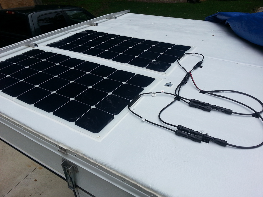 Four Wheel Camper - Solar Panels Install