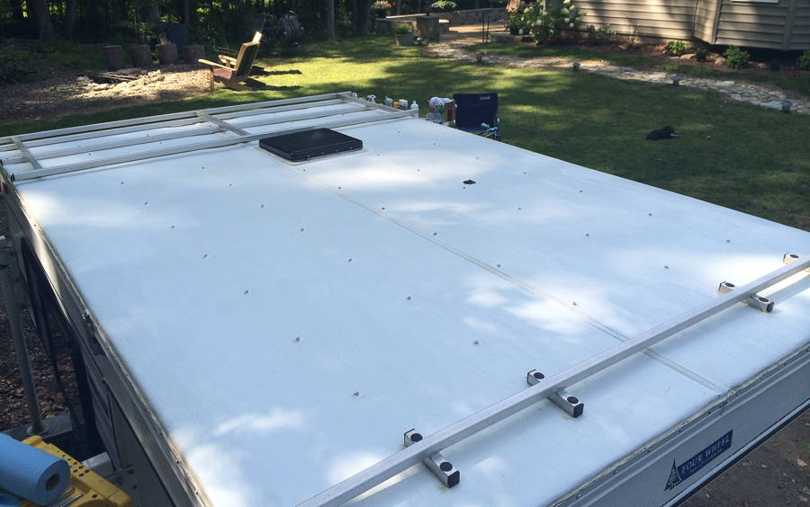 Four Wheel Camper Roof