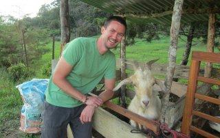 Ecohostel Medellin Goat
