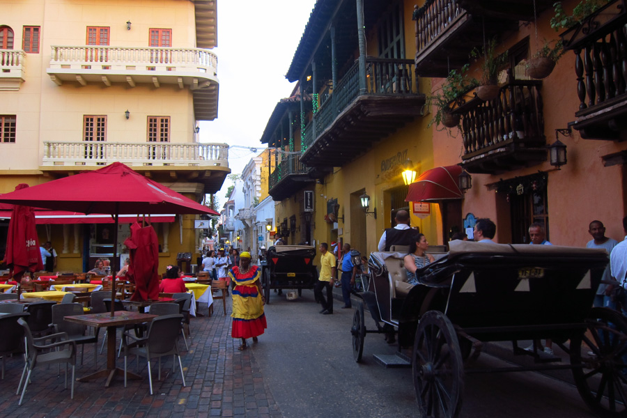 Cartagena Colombia December 2016