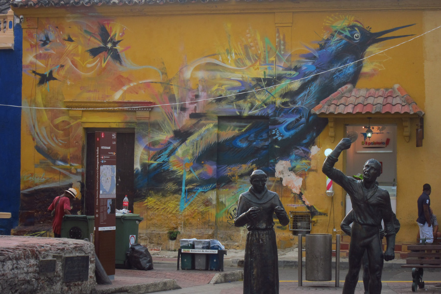 Cartagena Colombia Street Art
