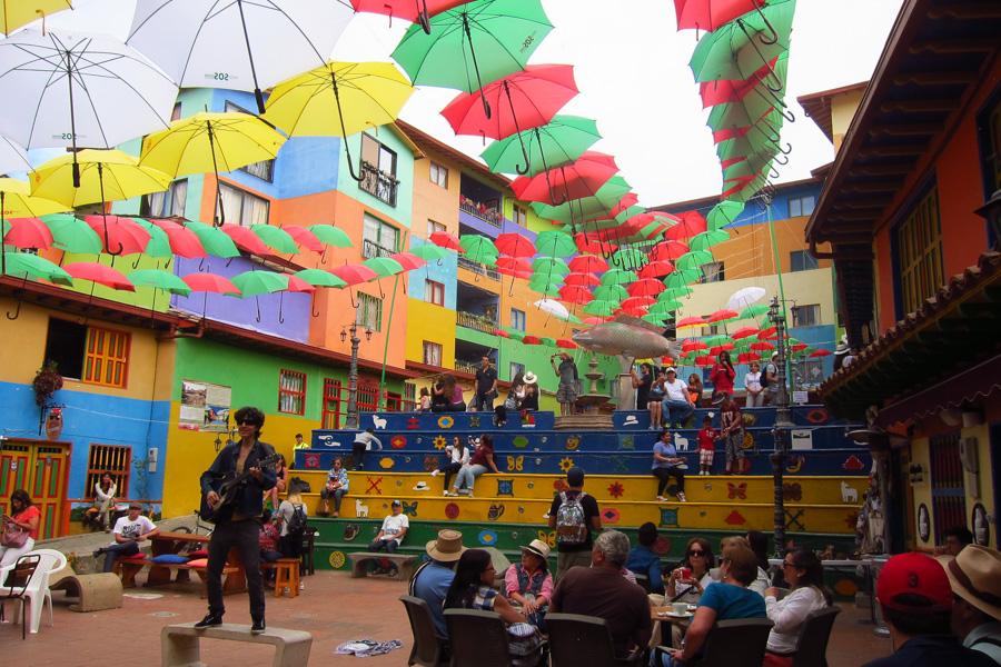 Guatape Colombia Plaza Zocolo