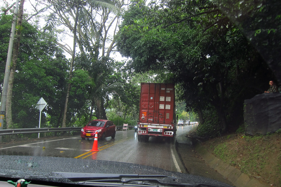 Driving In Colombia